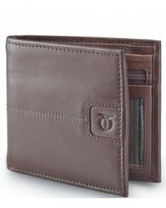 Titan Brown Mens Wallet - TW135LM1TN